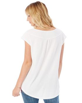 Alternative 4864C1 Ladies Cotton Flirt Tee