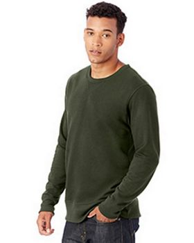 Alternative 5065BT Reversible B-Side Vintage French Terry Crew Neck