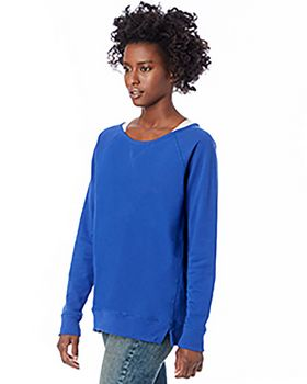 Alternative 5068BT Women's Reversible Scrimmage Vintage French Terry Pullover