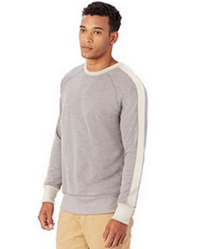 Alternative 5079BT Mens French Terry University Pullover at ApparelnBags.com