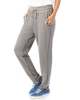 Alternative 5080BT Ladies French Terry Relay Race Pant at ApparelnBags.com