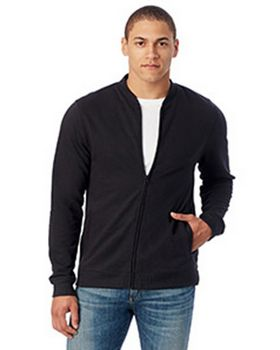 Alternative 5121BT Mens Bomber Vintage French Terry Bomber Jacket