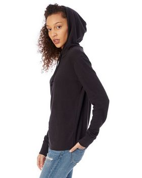 Alternative 7594 Cozy Vintage Heavy Knit Pullover Hoodie