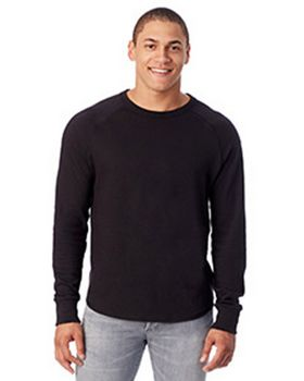 Alternative 7597B Mens Kickback Vintage Heavy Knit Pullover