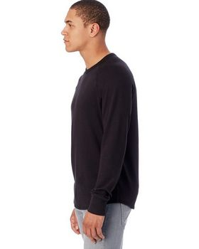 Alternative 7597 Kickback Heavy Knit Crewneck Sweatshirt