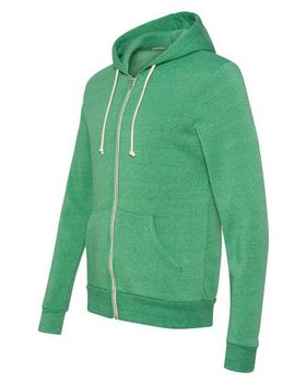 Alternative 9590 Eco-Fleece Hooded Full-Zip Sweatshirt