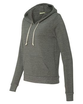 Alternative 9596 Eco-Fleece Athletics Hooded Pullover
