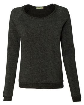 Alternative 9597 Womens Eco-Fleece Dash Pullover