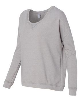 Alternative 9833 Twist French Terry Sunset Crewneck Pullover