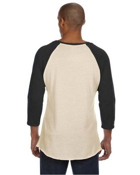 Alternative AA2089 Fashion Now Mens Printed Baseball Tee