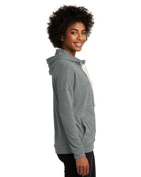 Alternative AA2896 Womens Eco Jersey Cool Down Zip Hoodie