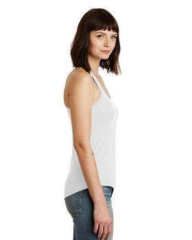 Alternative AA4031 Shirttail Satin Jersey Tank