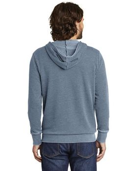 Alternative AA8636 Mens Burnout Zip Hoodie