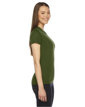 American Apparel 2102 Ladies Fine Jersey T-Shirt