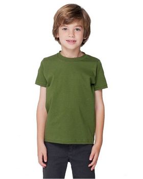 American Apparel 2105 Toddler Fine Jersey Short Sleeve T Shirt