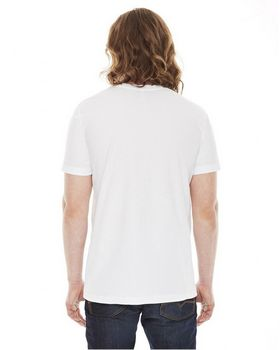 American Apparel 2406 Unisex Fine Jersey Pocket  T Shirt