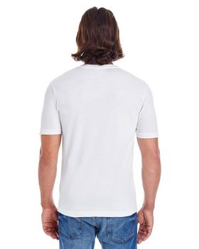American Apparel 24321 Unisex Fine Jersey Short-Sleeve Classic V-Neck at ApparelnBags.com