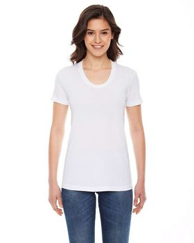 American Apparel BB301W Ladies Poly-Cotton Short-Sleeve Crewneck T-Shirt