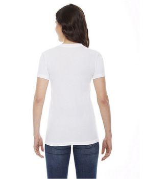 American Apparel BB301 Ladies Poly Cotton Short Sleeve Crewneck