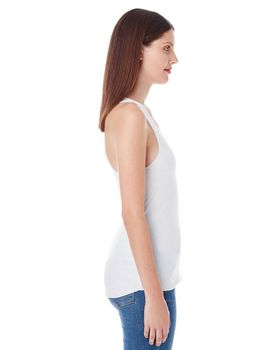 American Apparel BB308 Ladies Poly-Cotton Racerback Tank at ApparelnBags.com