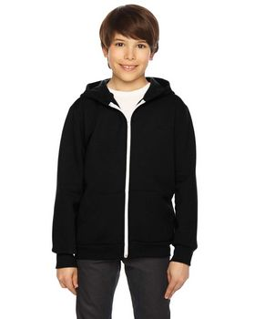 American Apparel F297W Youth Flex Fleece Zip Hoodie