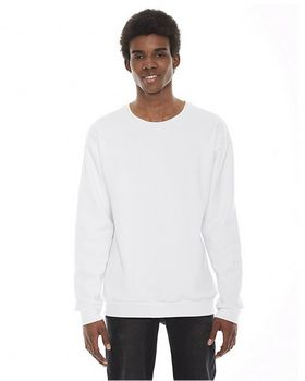 American Apparel F496 Unisex Flex Fleece Drop Shoulder Pullover Crewneck