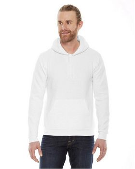 American Apparel F498 Unisex Flex Fleece Drop Shoulder Pullover Hoodie