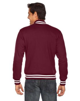 American Apparel HVT401W Unisex Heavy Terry Classic Club Jacket