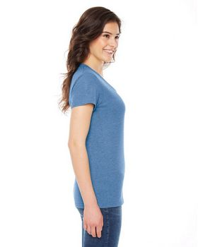 American Apparel TR301 Women's Triblend Track T-Shirt