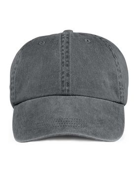 Anvil 145 6-Panel Pigment Dyed Twill Cap - Shop at ApparelnBags.com