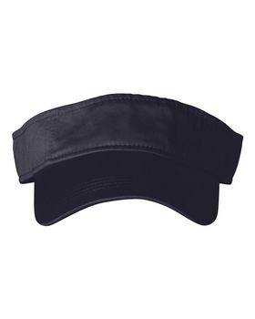 Anvil 158 Solid 3-Panel Twill Visor