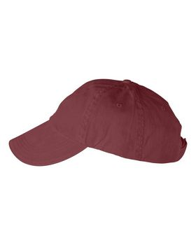 Anvil 166 Solid 6-Panel Pigment-Dyed Twill Sandwich Cap