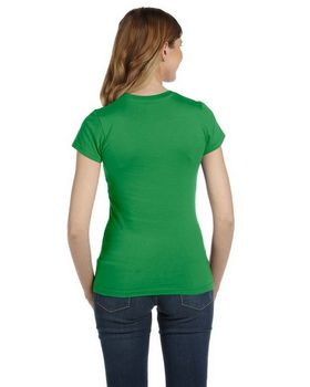 Anvil 379 Women's Ringspun Semi Sheer T-Shirt