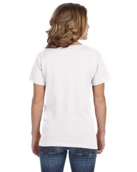 Anvil 392 Ladies Sheer V-Neck Tee