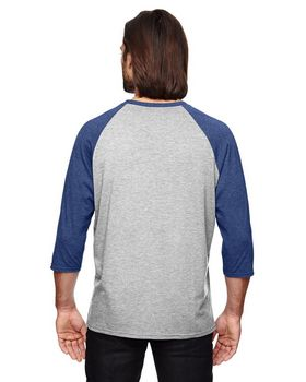 Anvil 6755 Triblend 3/4 Sleeve Raglan T-Shirt