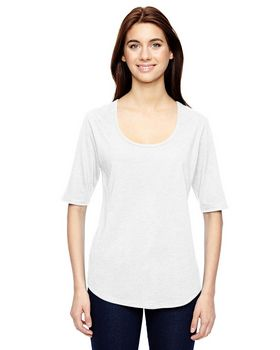 Anvil 6756L Ladies Triblend Deep Scoop T-Shirt