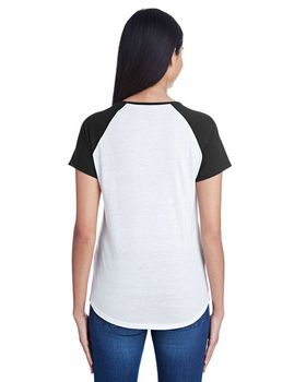 Anvil 6770VL Ladies Raglan T-Shirt