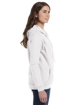 Anvil 71600FL Ladies Fashion Full-Zip Blended Hooded Sweatshirt