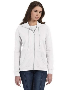 Anvil 71600L Ladies Combed Ringspun Fashion Full-Zip Hooded sweatshirt