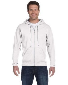 Anvil 71600 Adult Combed Ringspun Fashion Fleece Full-Zip Hooded sweatshirt