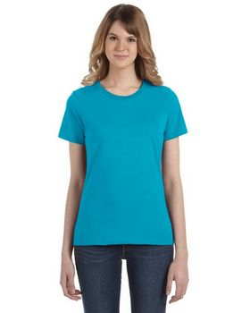 Anvil 880 Ladies Ringspun Cotton Fashion Fit T-Shirt