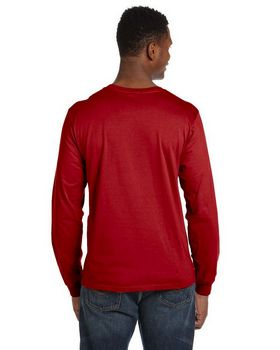 Anvil 949 Ringspun Cotton Long Sleeve Fashion-Fit T-Shirt