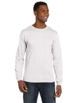 Anvil 949 Ringspun Cotton Long-Sleeve Fashion-Fit T-Shirt