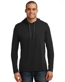 Anvil 987 Long Sleeve Hooded T Shirt