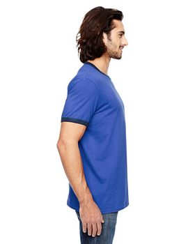Anvil 988AN Lightweight Ringer T-Shirt - Shop at ApparelnBags.com