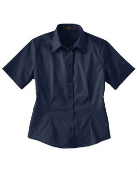 Ash City 77010 Ladies Short Sleeve Twill Shirt