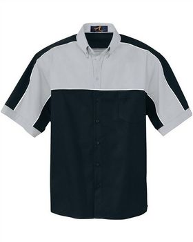 Ash City 87013 Men's Color Block Short Sleeve Shirt