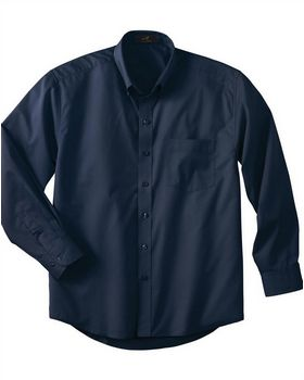Ash City 87015 Mens Long Sleeve Twill Shirt