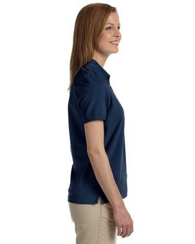 Ashworth 1146C Ladies' Combed Cotton Pique Polo
