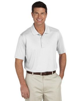 Ashworth 3044 Mens Performance Interlock Solid Polo